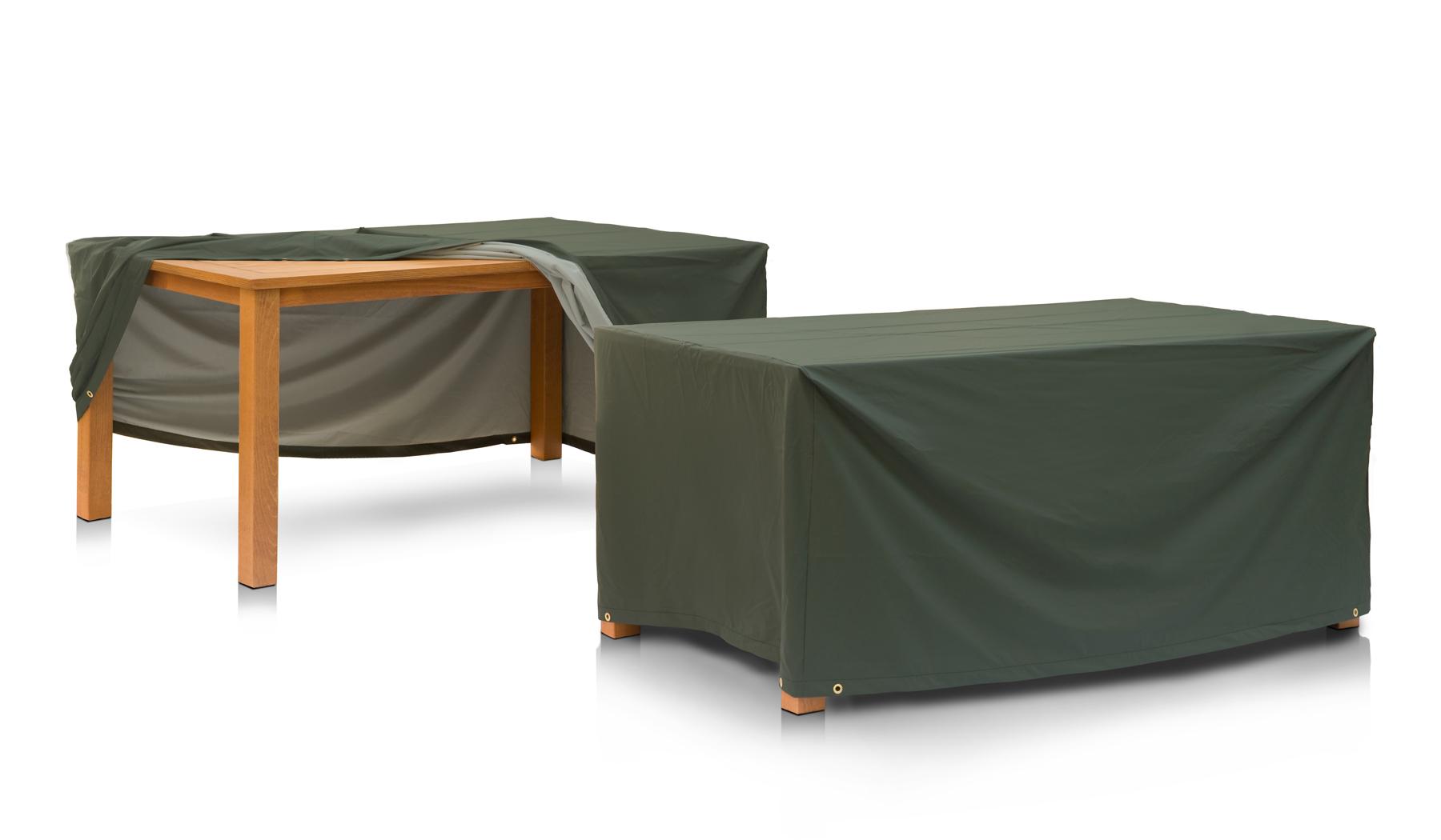 eigbrecht 146128 abdeckhaube schutzh lle mit abhang f r gartentisch 120x80x70cm. Black Bedroom Furniture Sets. Home Design Ideas
