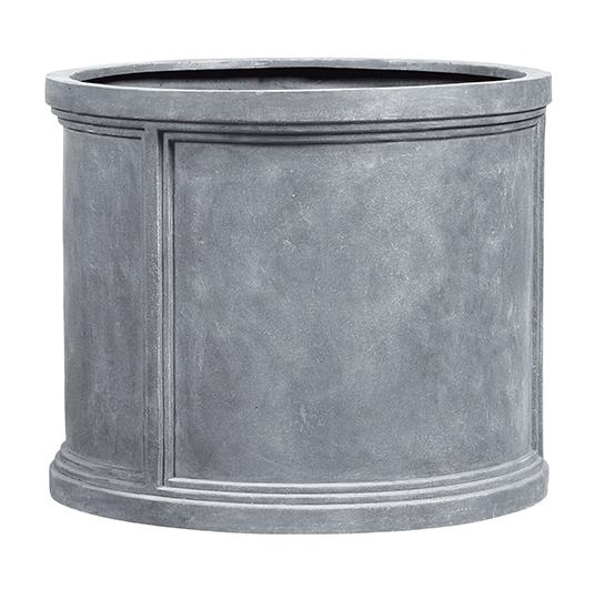 fiberglas pflanzgef esteras winchester 32 bleifarben. Black Bedroom Furniture Sets. Home Design Ideas