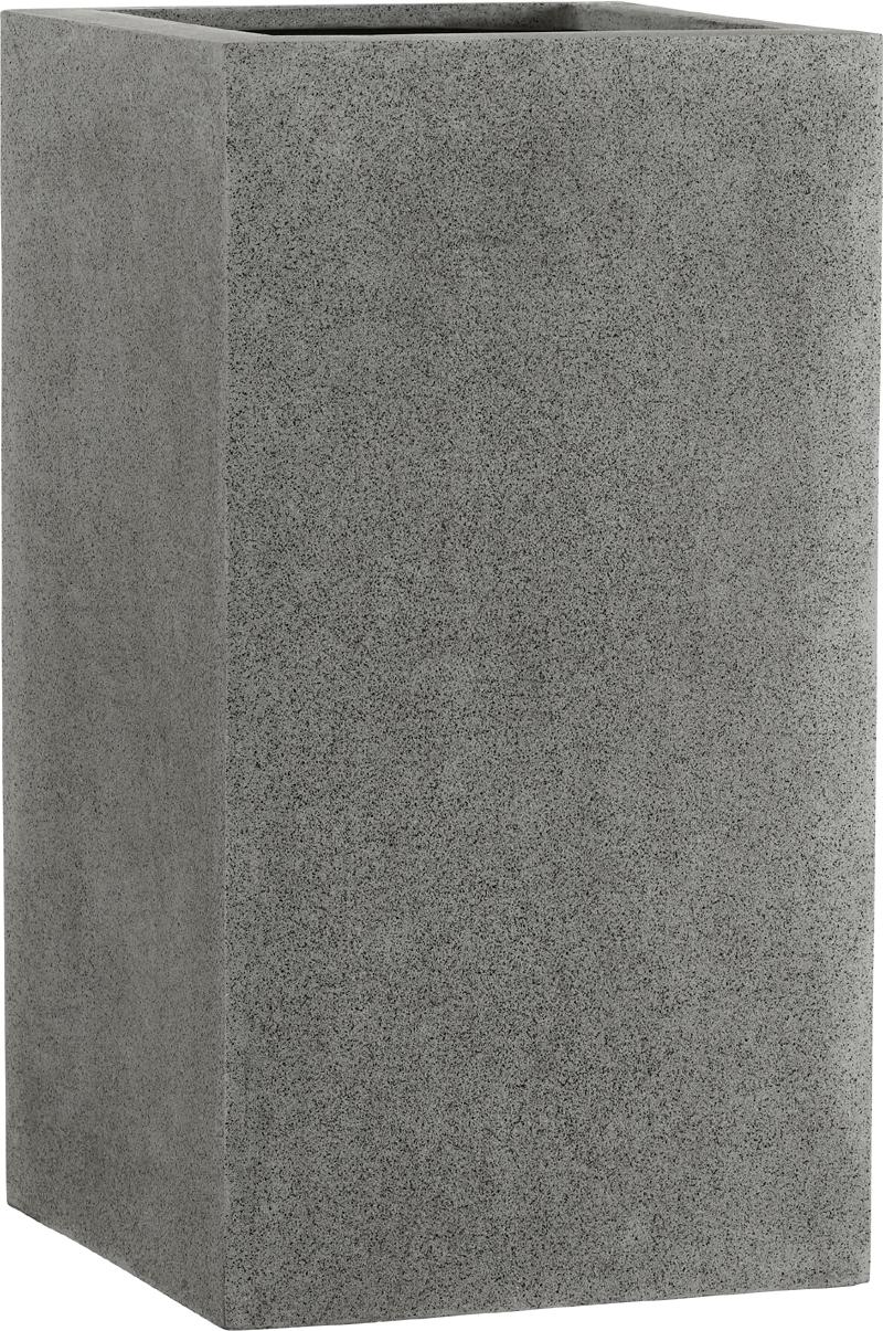 fiberglas pflanzk bel esteras deventer dunkelgrau 47cm hoch. Black Bedroom Furniture Sets. Home Design Ideas