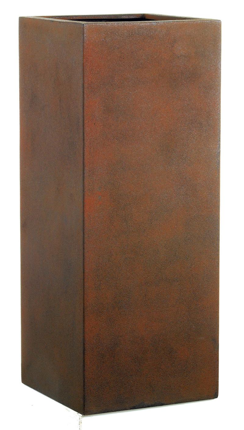fiberglas pflanzk bel esteras dundee rust 67cm. Black Bedroom Furniture Sets. Home Design Ideas