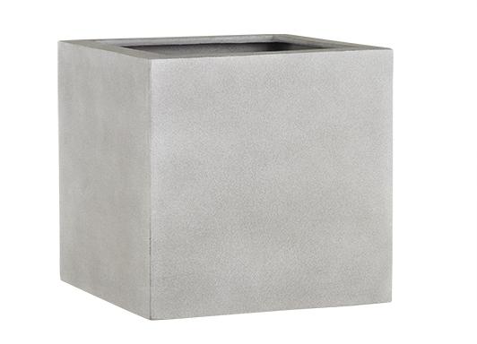 Fiberglas Pflanzkübel Esteras Lisburn Warm Concrete 37cm hoch