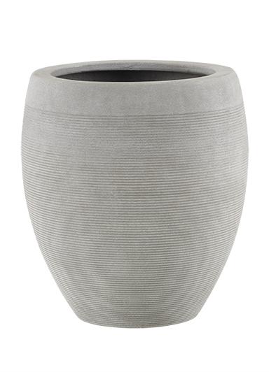 fiberglas pflanzk bel esteras watford warm concrete 45cm hoch. Black Bedroom Furniture Sets. Home Design Ideas