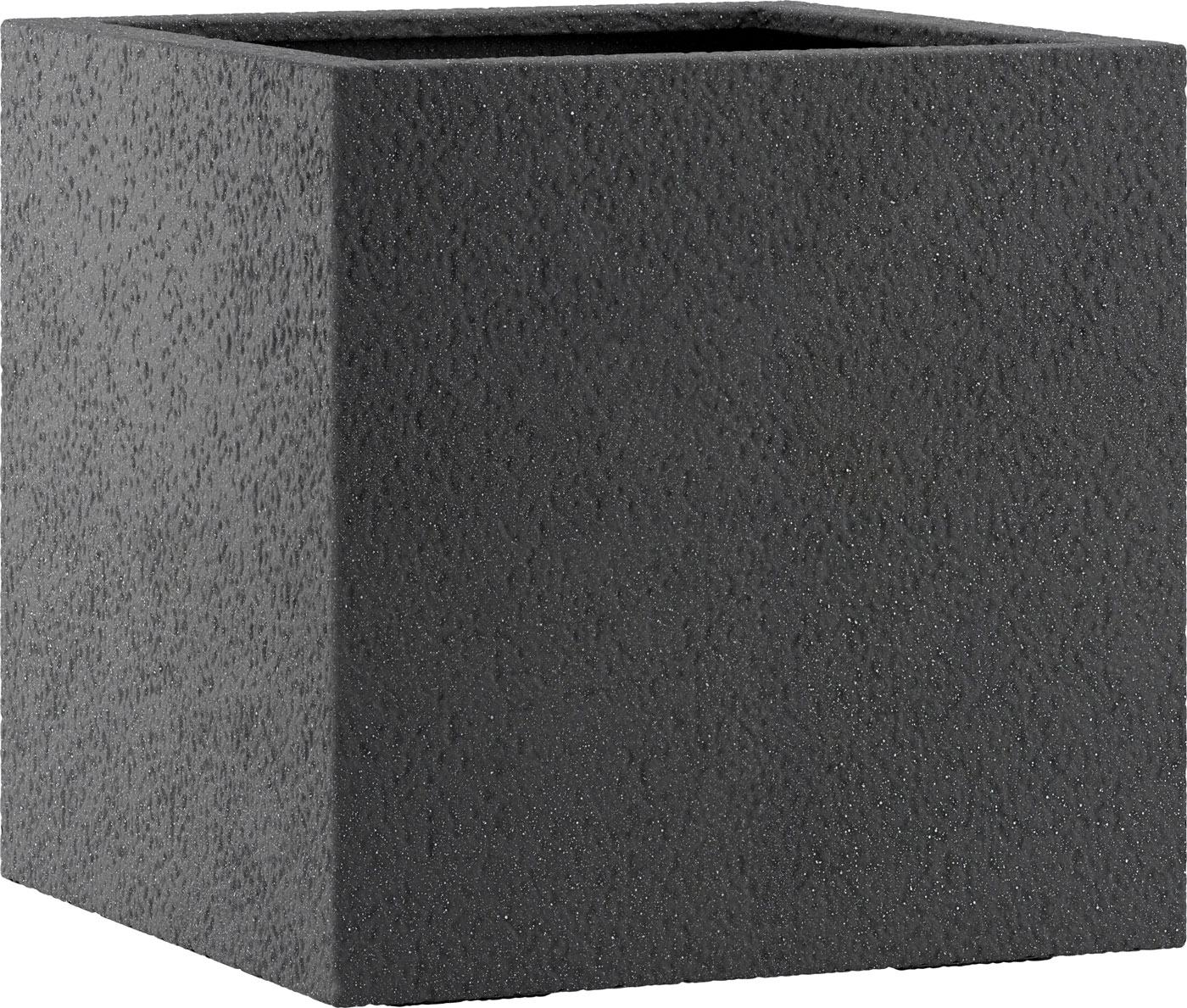 fiberglas pflanzk bel esteras lisburn basalt black 47cm hoch. Black Bedroom Furniture Sets. Home Design Ideas
