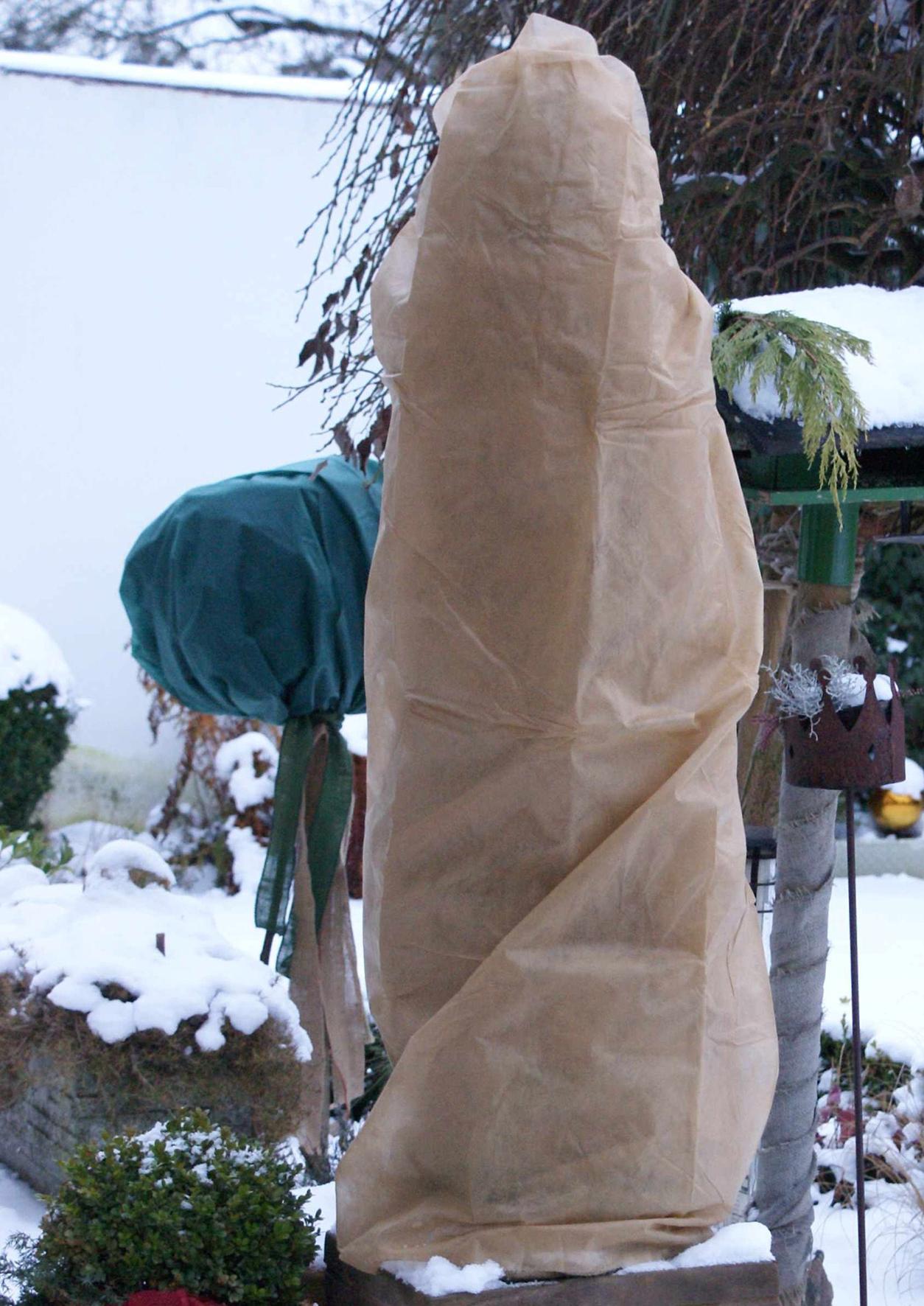 pflanzen winterschutz vlieshaube 240x200cm natur. Black Bedroom Furniture Sets. Home Design Ideas